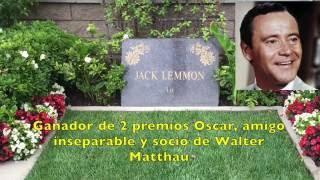 Tumbas famosas con info - Capote - Marilyn - Nataly Wood - Stallone