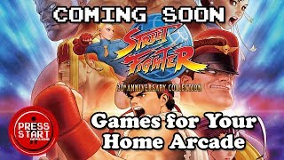 Games for Your Home Arcade | Street Fighter 30th Anniversary Collection