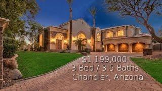 For sale luxury home chandler, arizona 3 bed / 3.5 baths 1,199,000