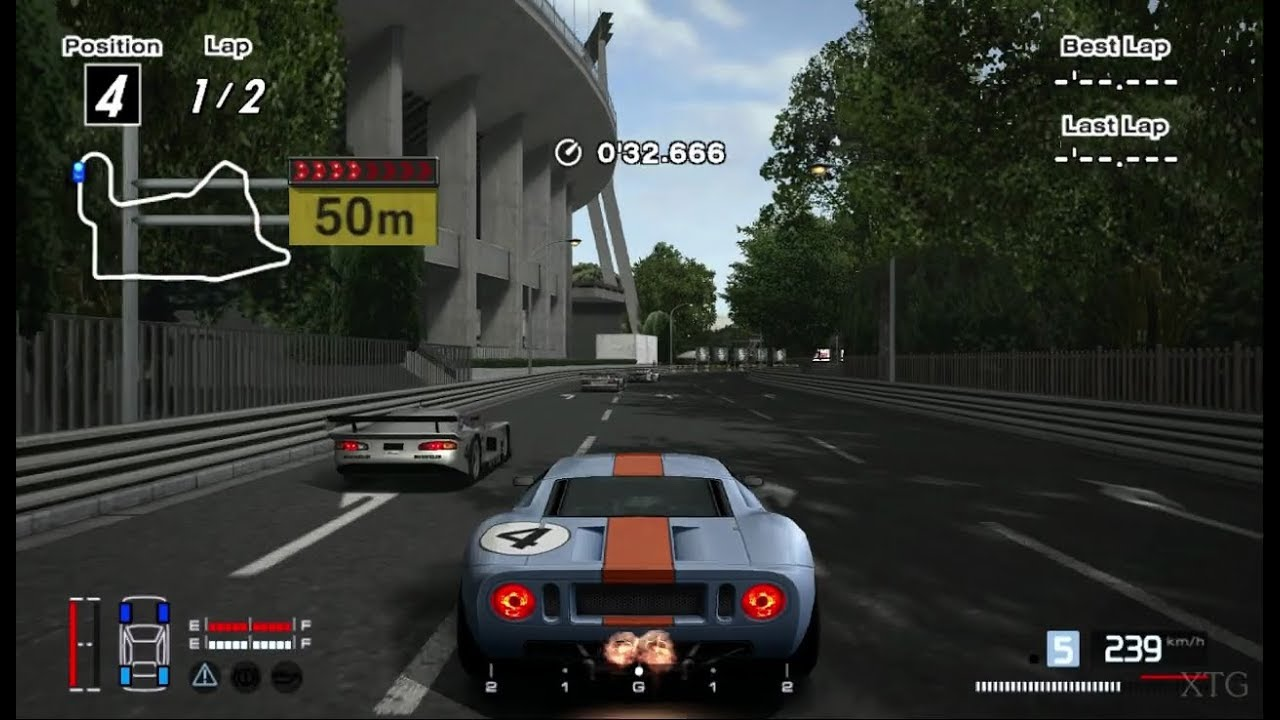 Gran Turismo  Ford Gt Lm Race Car  Hybrid Ps Gameplay Hd