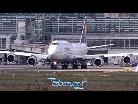 Lufthansa - Boeing 747-830 D-ABYA - Takeoff from Frankfurt am Main EDDF/FRA