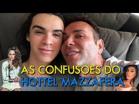 VLOG: AS CONFUSÕES DO HOTTEL MAZZAFERA COM RAFAEL UCCMAN IZA GOULART E MC POCAHONTAS