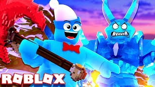 Defeating the HARDEST DUNGEON in Roblox Dungeon Quest! (Winter Outpost)