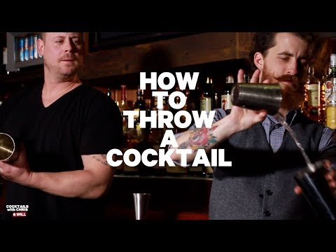 Cocktails with Chris and Will - How To Throw a Cocktail