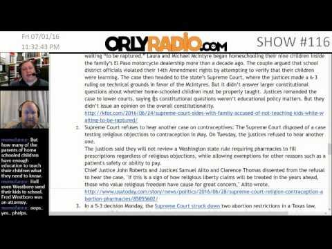ORLY-EP0116B - Getting Control:  Abortion, Birth, Guns, Flesh Eating Algea, & More