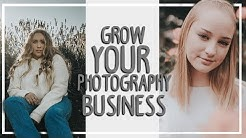 How I MAKE MONEY as a TEENAGE PHOTOGRAPHER