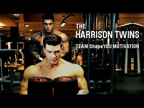Bodybuilding Motivation by Harrison Twins – Challenge yourself – TEAM ShapeYOU