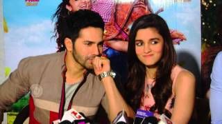 Varun Dhawan Can't Stop Touching Alia Bhatt