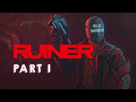 Ruiner Walkthrough Gameplay Part 1 (No Commentary)