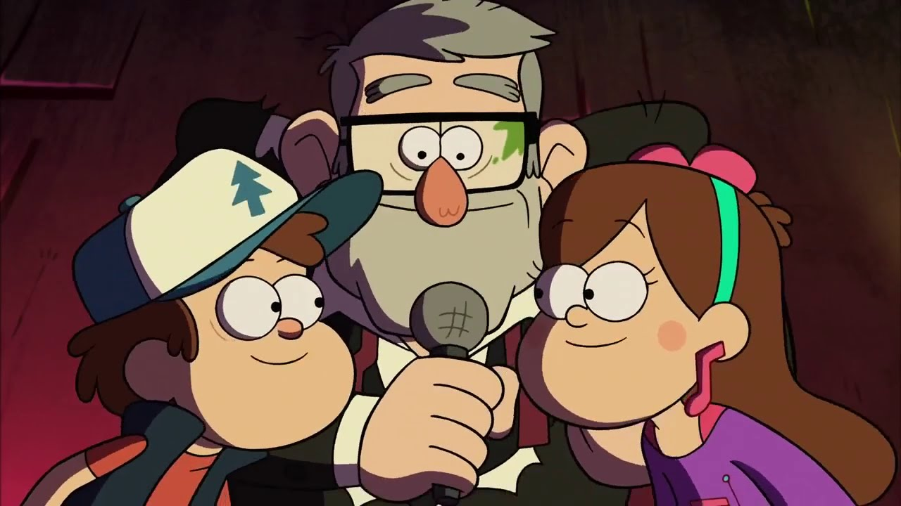 gravity falls taking over midnight hd youtube