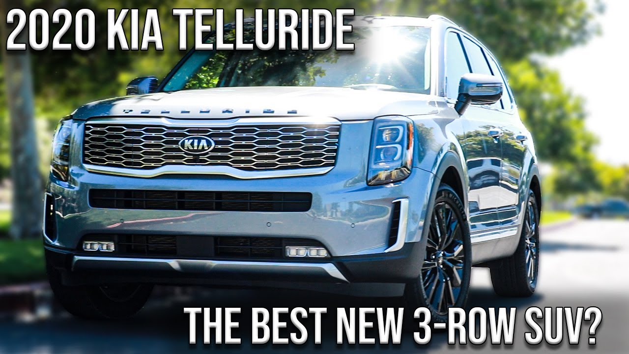 Best 3rd Row Suv 2020.2020 Kia Telluride The Best New 3 Row Suv