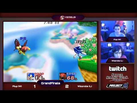 FTGM - Grand Finals - Plup (Meta Knight) vs CT Wizzrobe (Sonic) - Project M