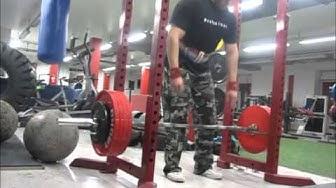 Räkki-veto, 220kg x 5, 240kg x 5