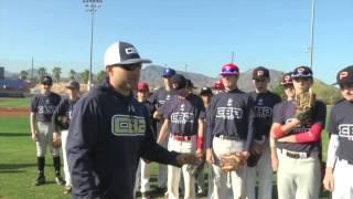 CBA Vegas Baseball Tryout Highlights