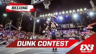 Dunk Contest feat. Jordan Kilganon - Beijing - 2015 FIBA 3x3 World Tour