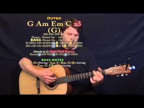 Halo (Jordan Smith) Guitar Lesson Chord Chart - Standard Tuning