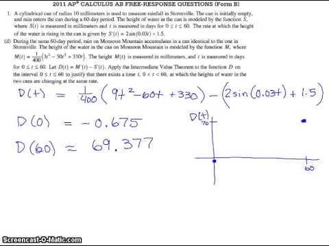 2011 ap calc bc free response form b