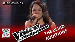 "The Voice of the Philippines Blind Audition ""Listen"" by Mecerdita Quiachon (Season 2)"