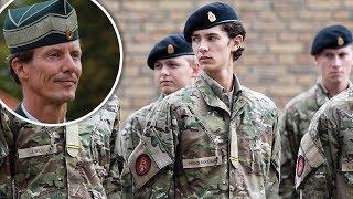 Prins Nikolai på sergentskole