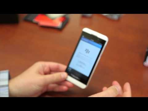 Verizon Blackberry Z10 Unboxing