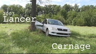 The Mitsubishi Lancer Destruction Review