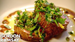 Fillet Steak with Gremolata | Gordon Ramsay