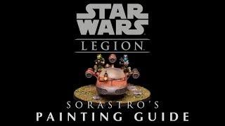 Star Wars Legion Painting Guide Ep.14: X-34 Landspeeder