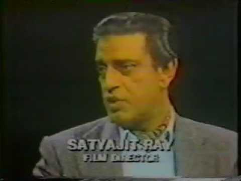 Los Angeles Times reporter Kevin Thomas interviews Satyajit Ray