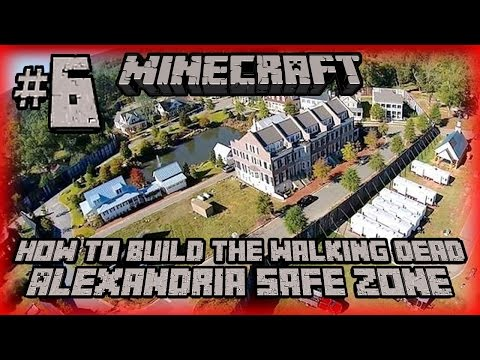 How to Build The Walking Dead Alexandria Safe Zone - #6 - Watchtower