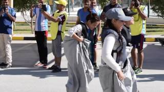 Ladies Funny game playing | Sports day | 10 march 2017| Doha Qatar|