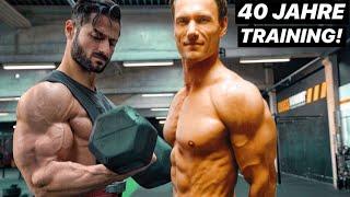 Der Arnold Schwarzenegger Deutschlands! 40 Jahre Training & Bodybuilding!
