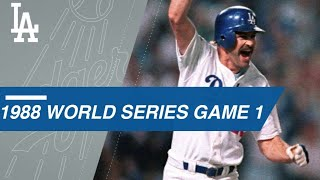 Extended Cut of Gibson, Dodgers' walk-off in Game 1 of the 1988 World Series
