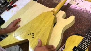 Luthier Wood Review White Limba Korina Holy Grail Tonewood Guitar