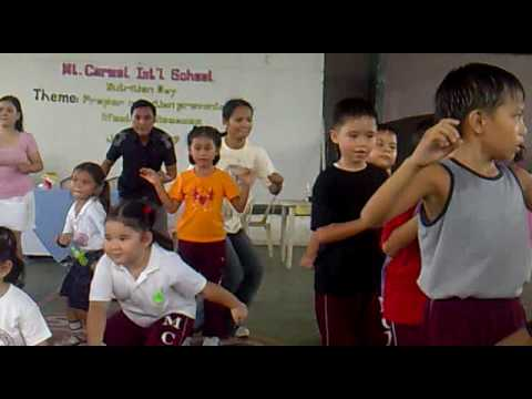 dancing with kids at school(ELA & TIN)