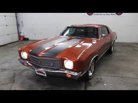 DustyOldCars.com 1970 Chevrolet Monte Carlo SS SN 1367