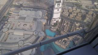 At the Top of Burj Khalifa Level 148