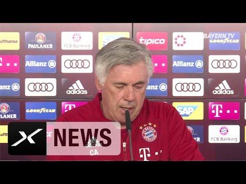 Carlo Ancelotti über Champions-League-Aus, Transfers und Kritik | FC Bayern München