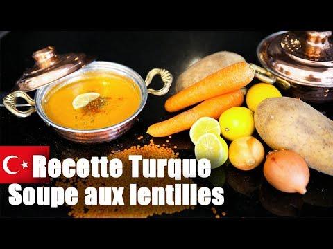 """recette-turque-:-soupe-aux-lentilles-""""mercimek-Çorbası"""""""