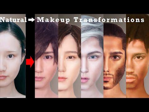 Makeup Transformations Into Beautiful Men In Their Twenties Around The World | AmaterasuEVE