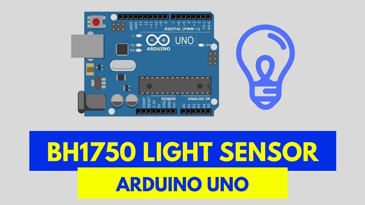 BH1750 light sensor and Arduino tutorial with code