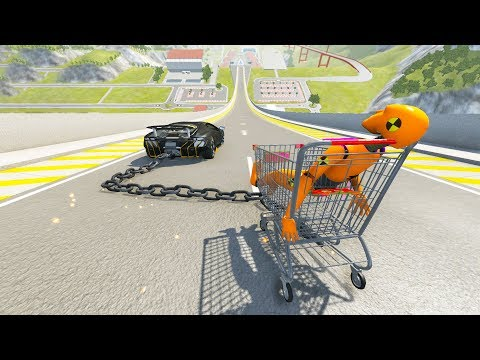 High Speed Jump Crashes BeamNG Drive Compilation #29 (Car Shredding Experiment)