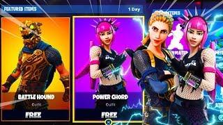 NEW POWER CHORD SKIN On Fortnite Battle Royale! - FORTNITE New Skins Update!