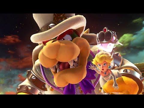 Super Mario Odyssey Walkthrough Part 11 - Infiltrate Bowser's Castle (Bowser's Kingdom)