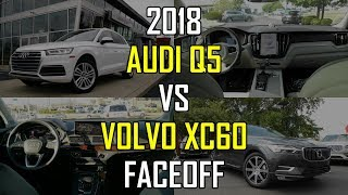 2018 Audi Q5 Prestige vs. 2018 Volvo XC60 Inscription: Faceoff Comparison