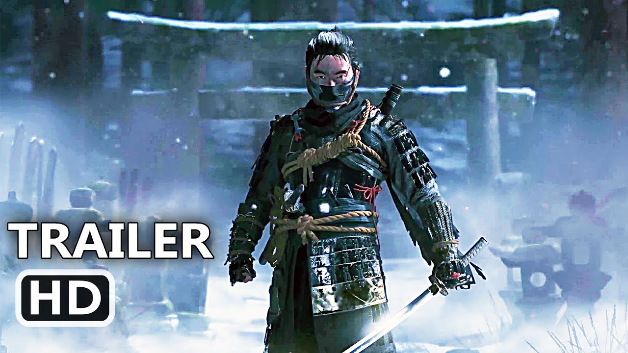 Ps Ghost Of Tsushima Trailer