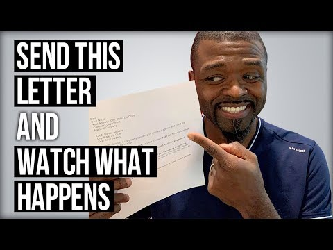 Credit Dispute Letter: Send This Letter and Watch What Happens