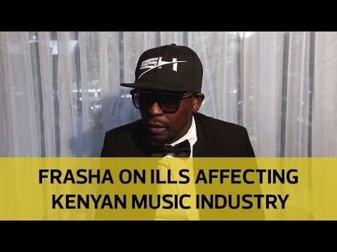 Rapper Frasha gives his take on ills affecting Kenyan music industry