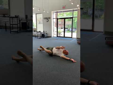 Want ABS? Try This Longevity Move! The Cross Connect Roll