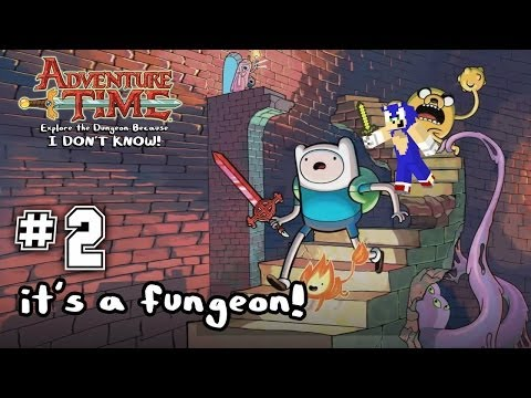 Adventure Time: Explore the Dungeon Because I Don't Know - Gameplay 2
