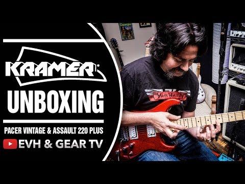 A Dual Shot Of Kramer Guitars Live Unboxing